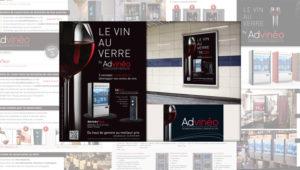 Communication publicitaire pour le vin